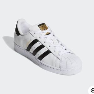 Adidas allstars in white